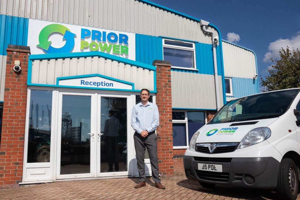 James Rix Managing Director Prior Power Solutions