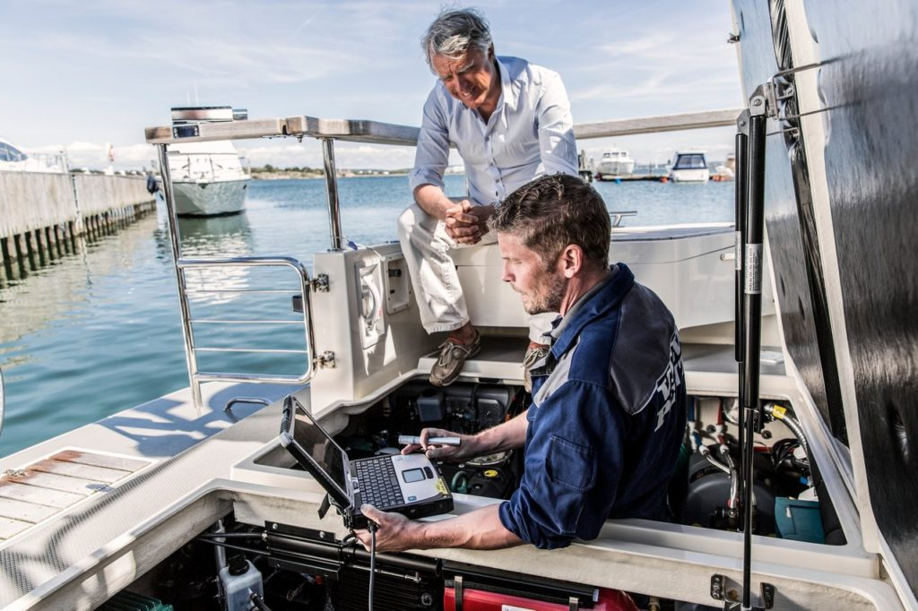 Engine Diagnostics Volvo Penta 2